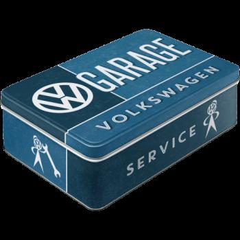 метална плоска кутия VW гараж