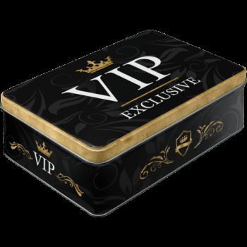 Метална плоска кутия VIP