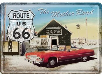 метална картичка- Пътят майка