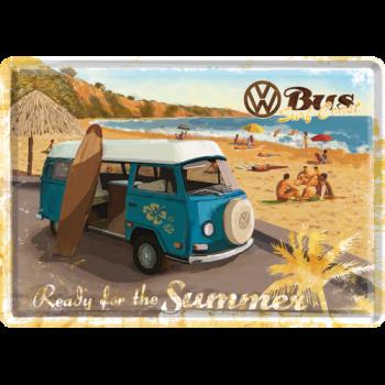 метална картичка VW Готови за лятото