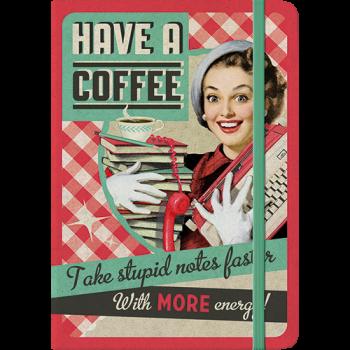 бележник А5 - Изпийте още едно кафе